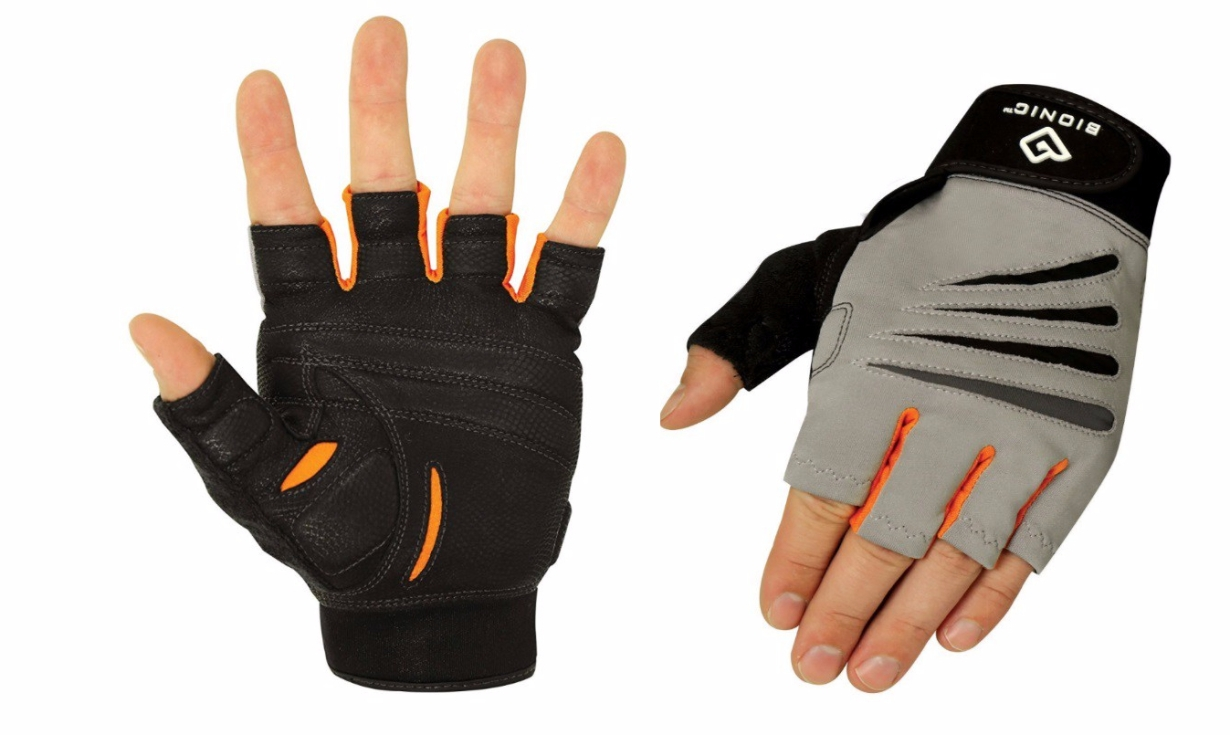 Bionic Glove Men's Cross-Training Fingerless Gloves