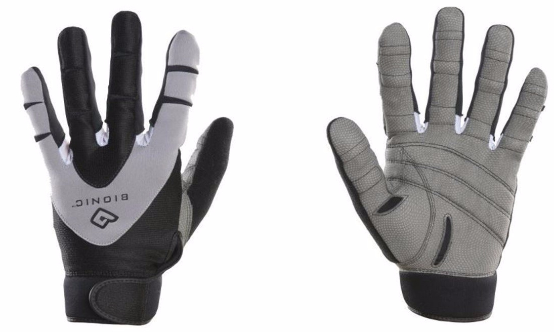 Bionic Men's PerformanceGrip NaturalFit Technology Full Finger Fitness Gloves